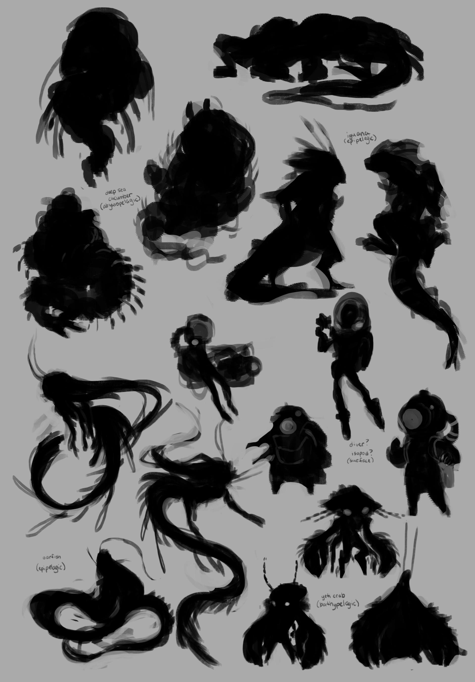 Dani kruse btw adventurer silhouettes
