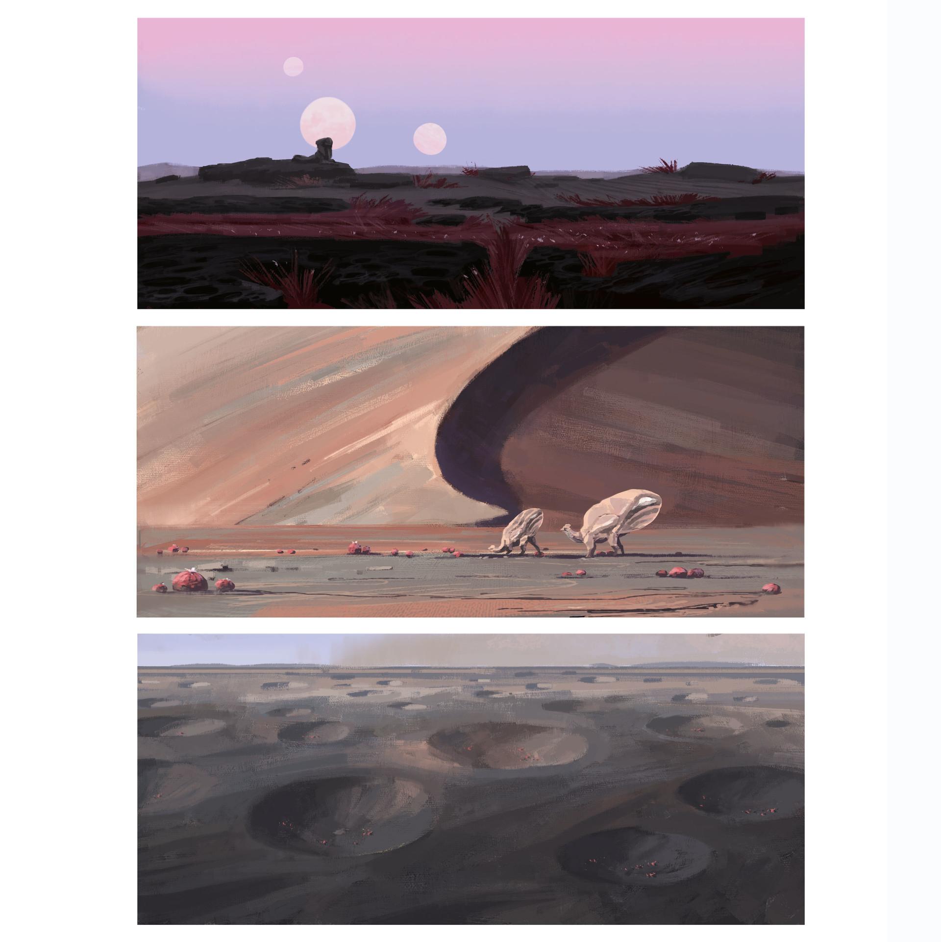 [Reflexion] Les oeuvres qui vous inspirent Alexander-ostrowski-05-desert-colorroughs-insta1