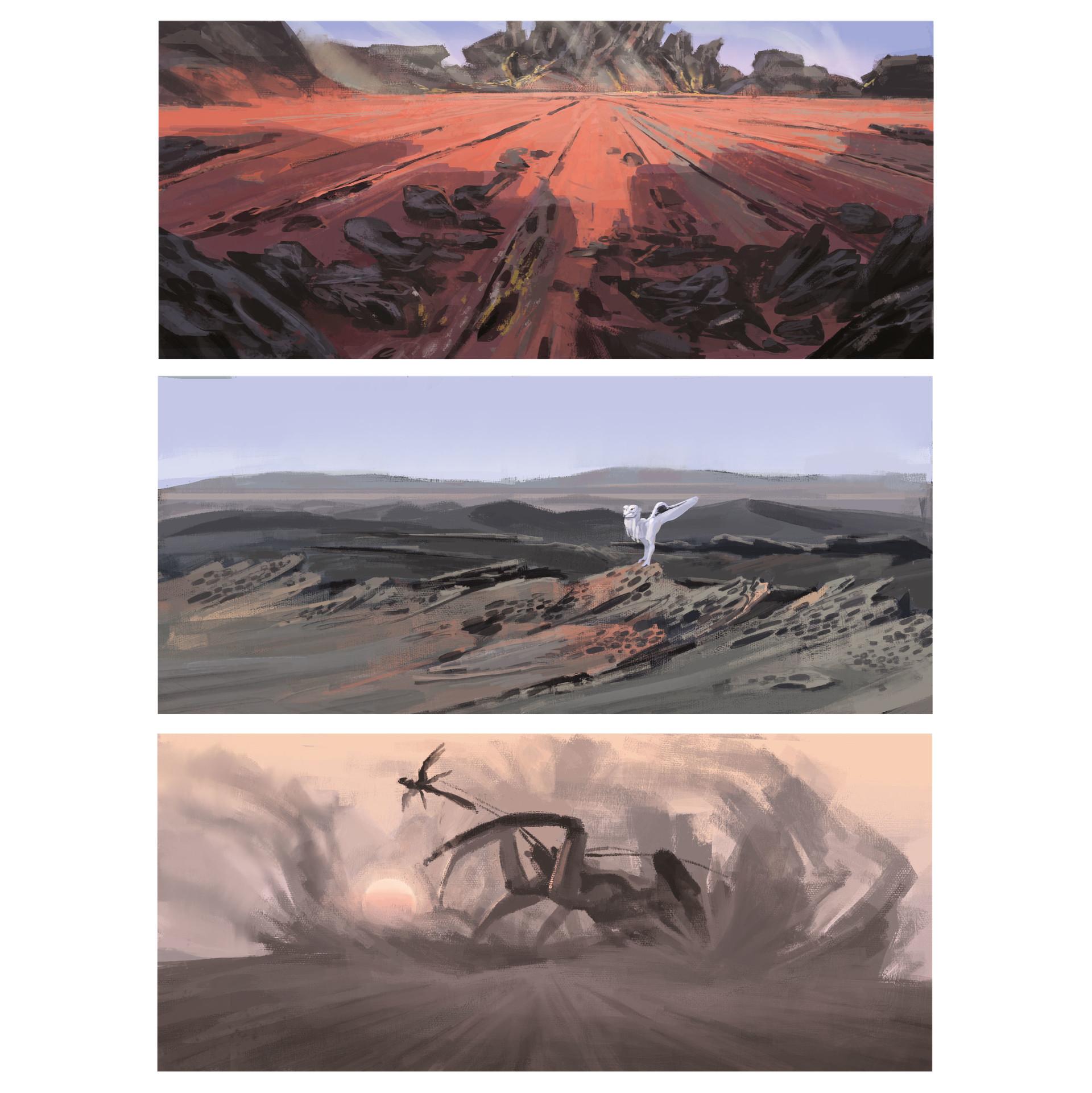 [Reflexion] Les oeuvres qui vous inspirent Alexander-ostrowski-05-desert-colorroughs-insta2