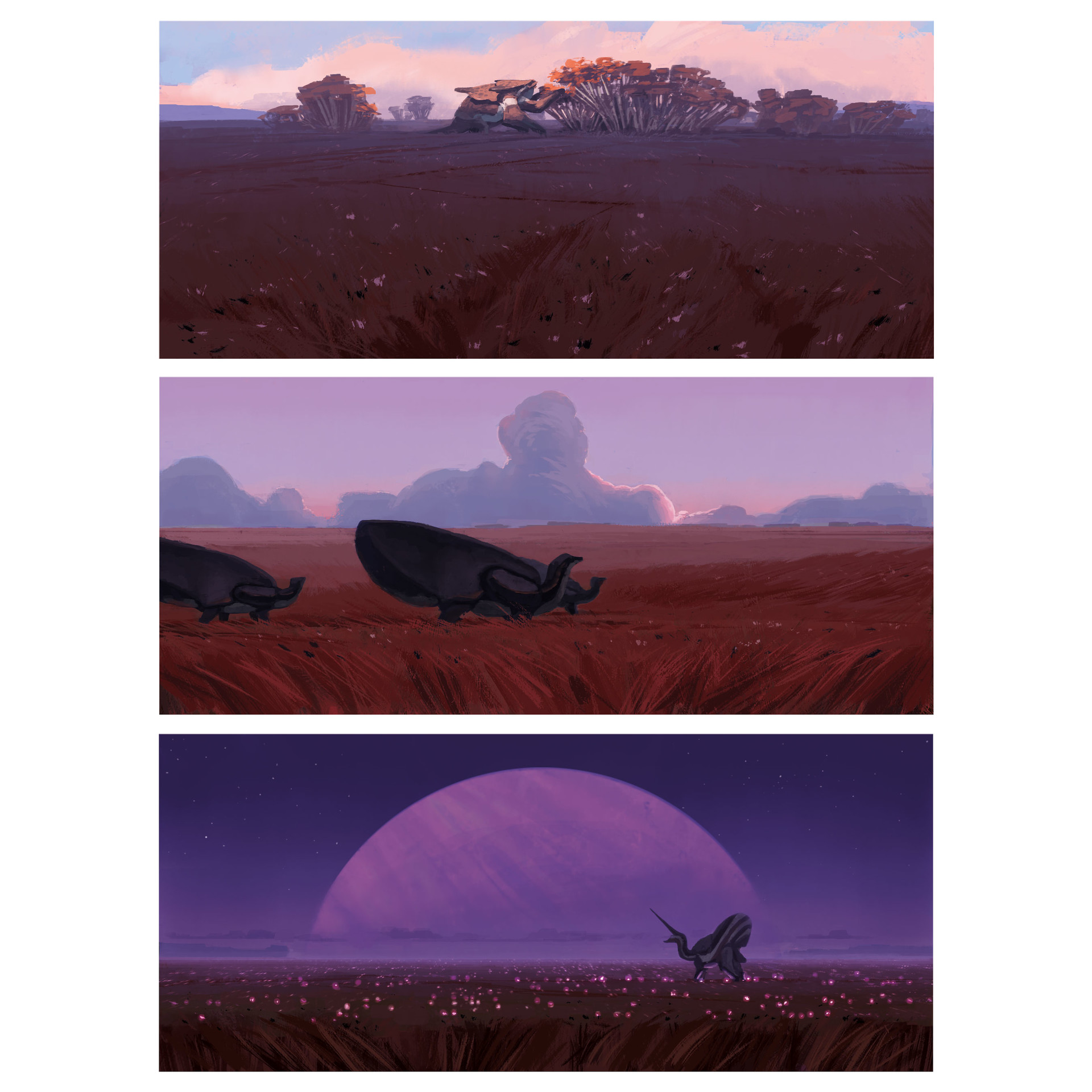 [Reflexion] Les oeuvres qui vous inspirent Alexander-ostrowski-05-grassland-colorroughs-insta1