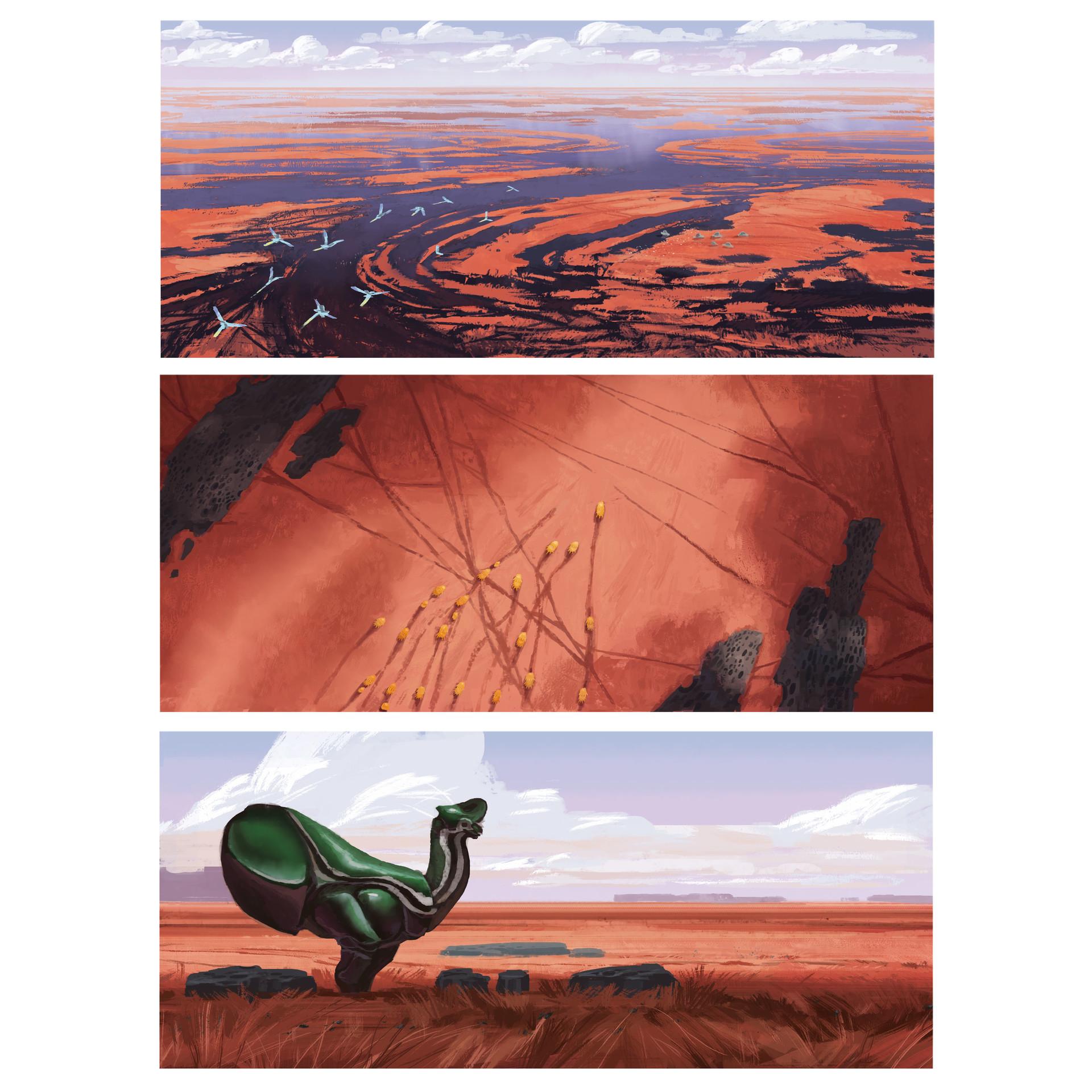 [Reflexion] Les oeuvres qui vous inspirent Alexander-ostrowski-05-grassland-colorroughs-insta2