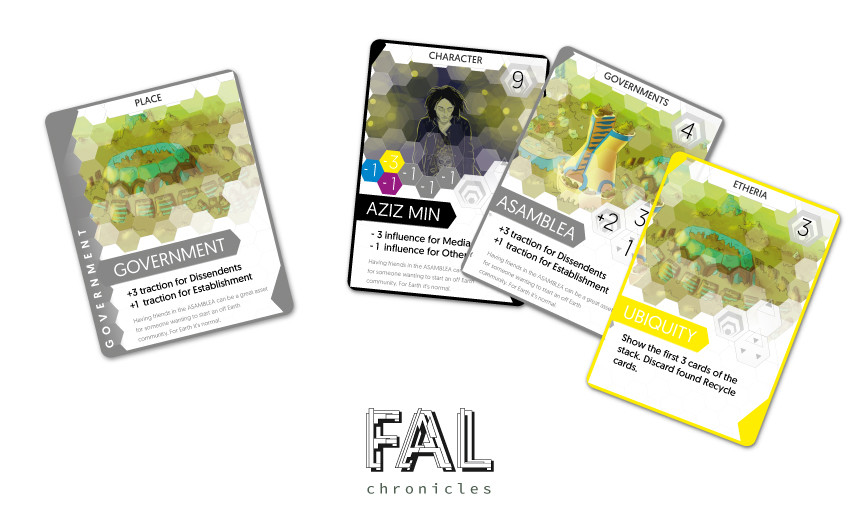 FAL chronicles card game