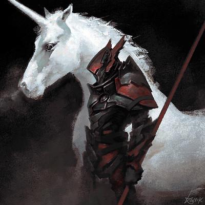 Koveck antonio garcia the unicorn and the dragon