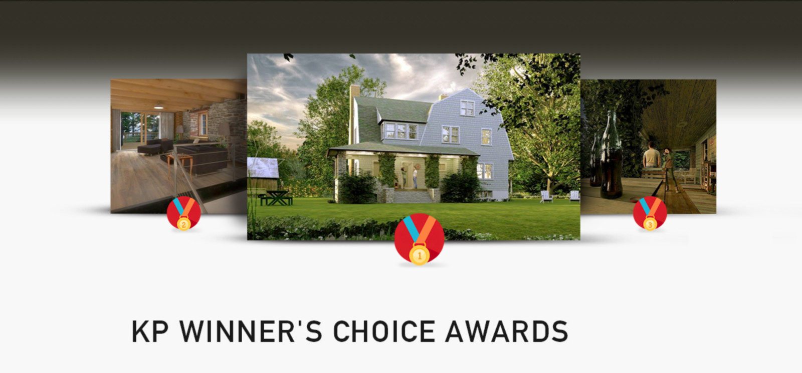 Kemp Productions won First, Second and Third Prize in the Shaderlight 2014 Render Contest. Our 6 entries had the top positions.  We decided to share these awards in a special way.  http://www.kemppro.com/KP_3D-Winners-choice-awards_2014.html