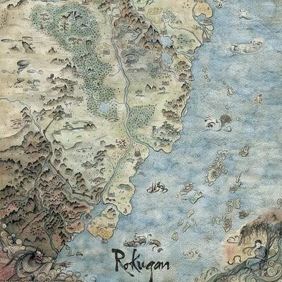 Francesca baerald fbaerald official rokugan map
