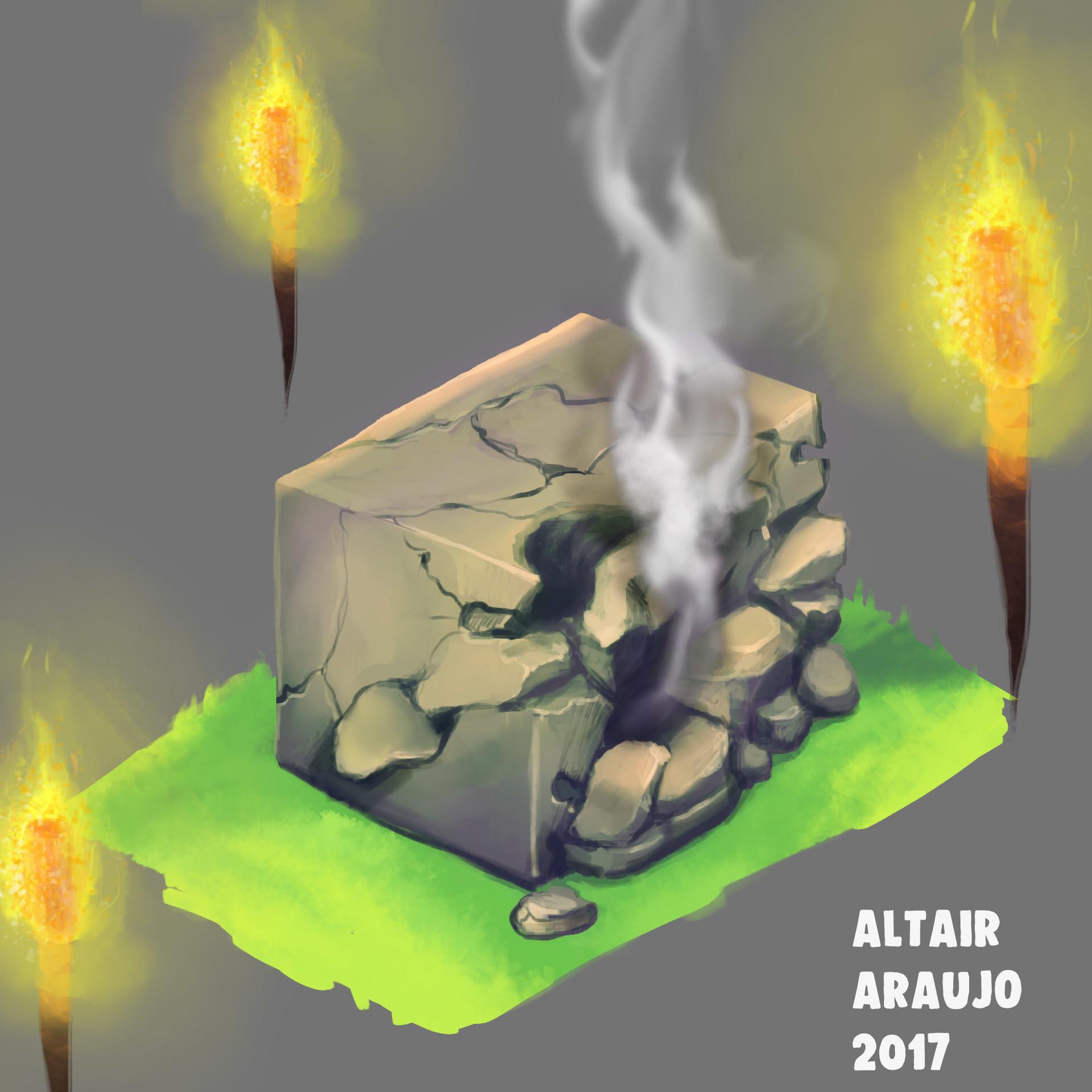 Altair araujo stone