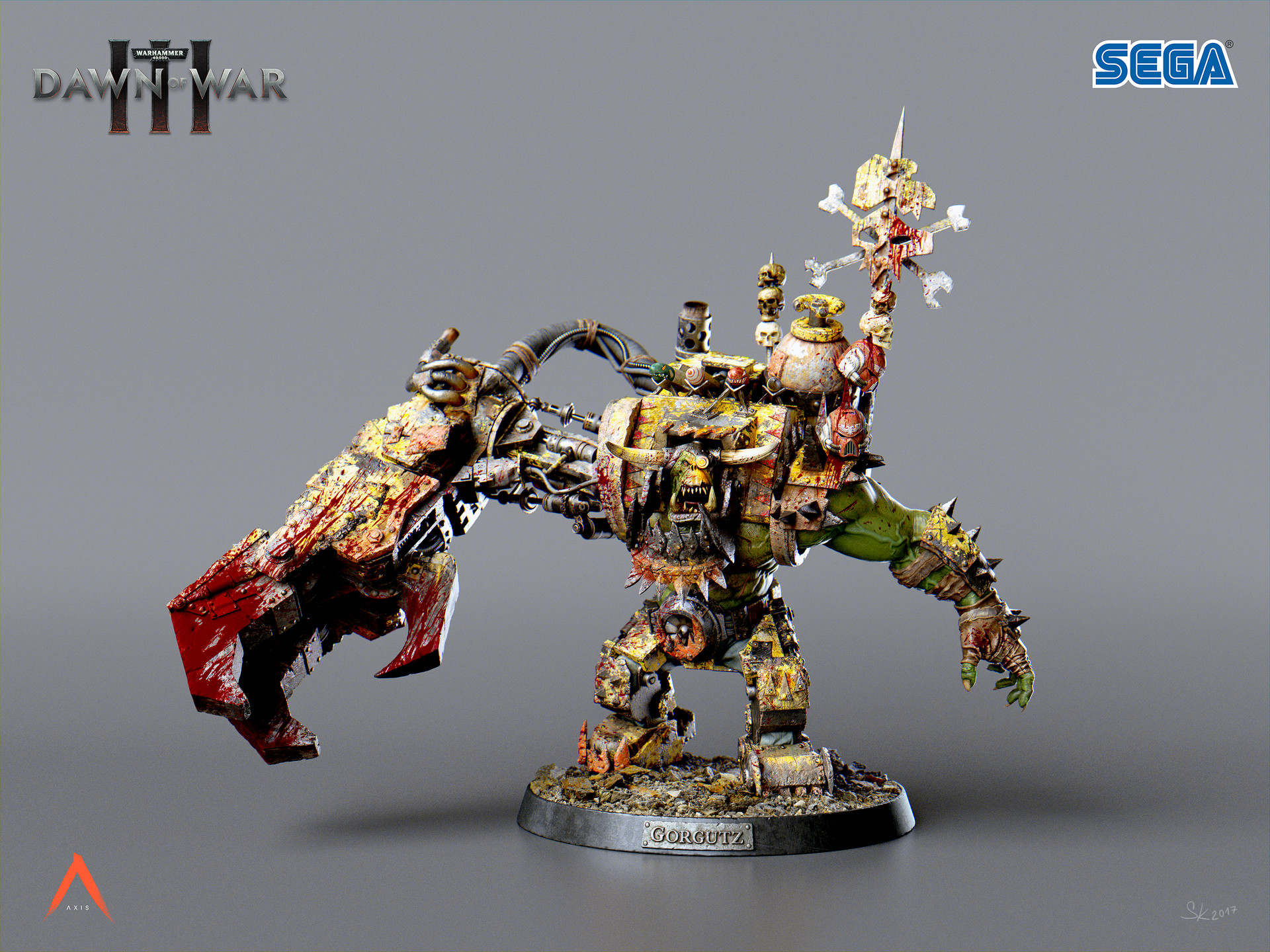 ork vs Space Marine warhammer 40k - Daz 3D Forums