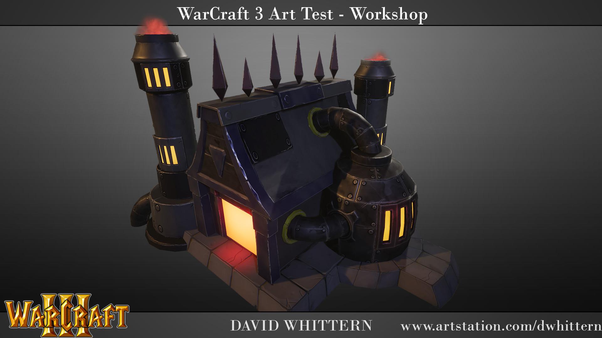 ArtStation - Warcraft 3 - Fan art, David Whittern