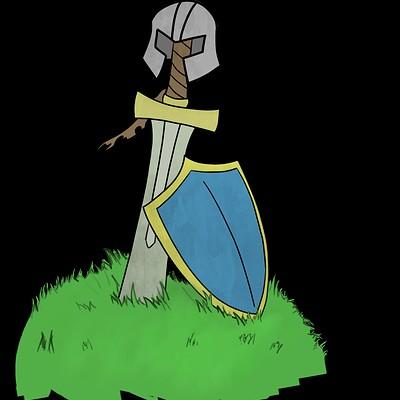 Mat rayner sword on the hill