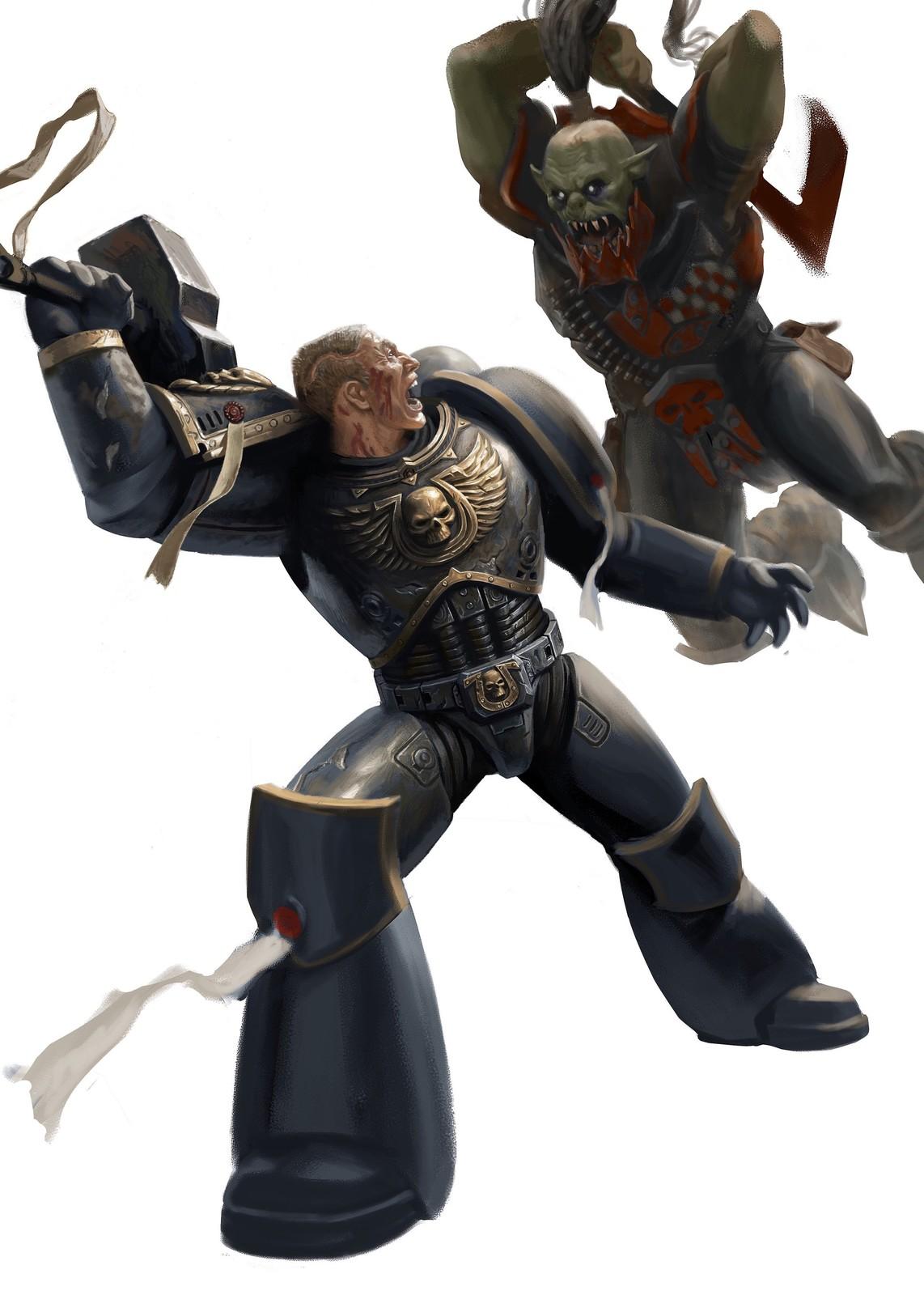 Rough design for Warhammer 40K