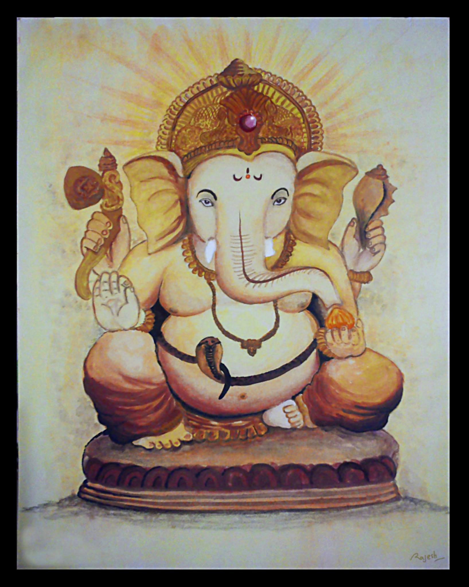 Rajesh r sawant shree ganesh color