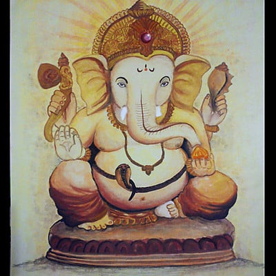 Rajesh r sawant shree ganesh color