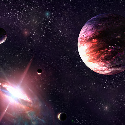 Maikl sumin space beckground 1