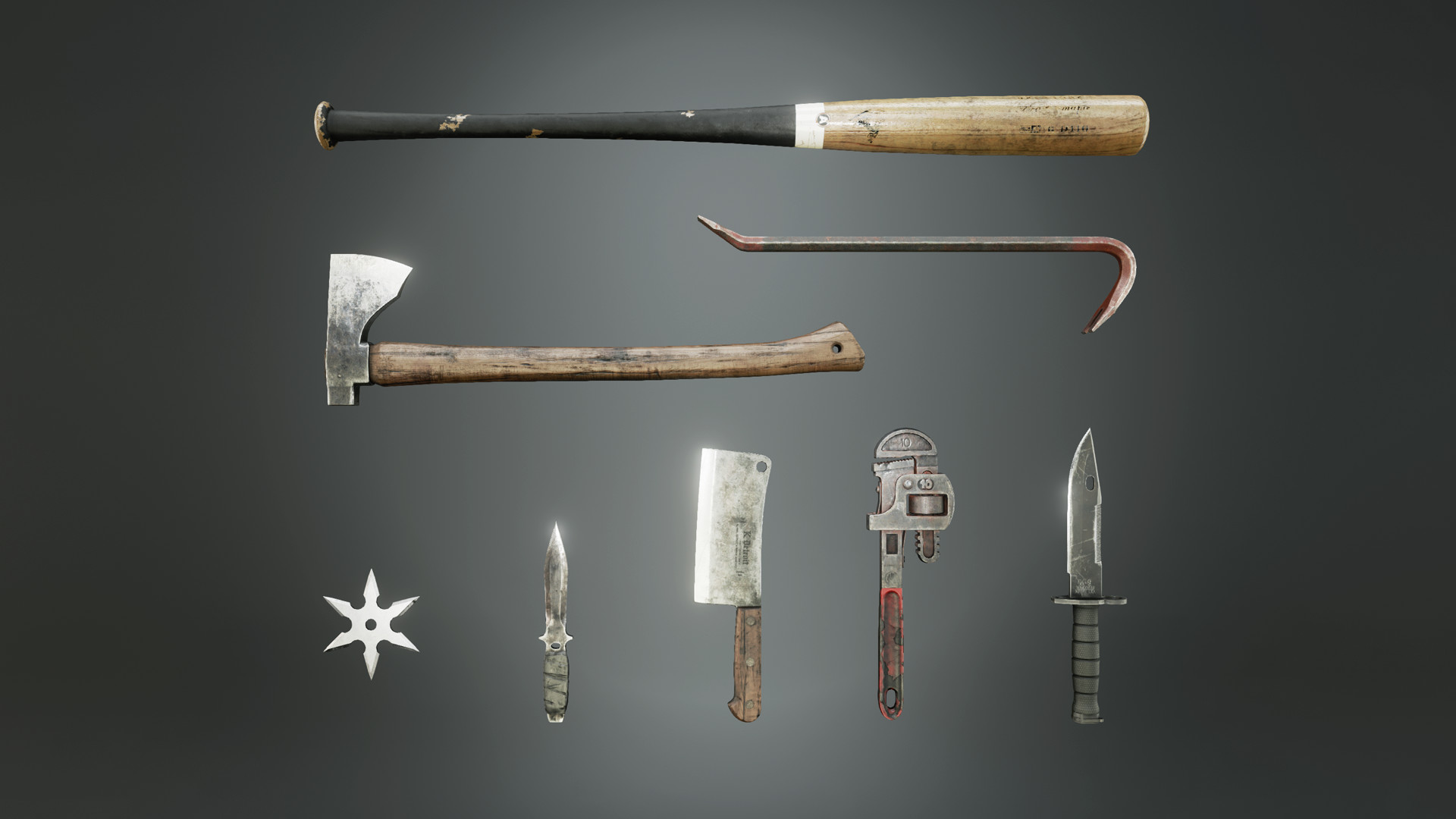 ArtStation - ☆ UE4 Marketplace - Melee Weapons Pack ☆, Stefan F