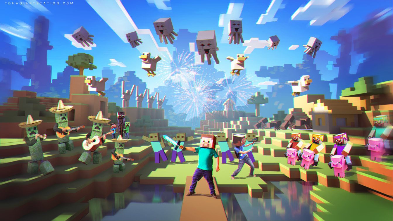 The Super Duper Minecraft Musical