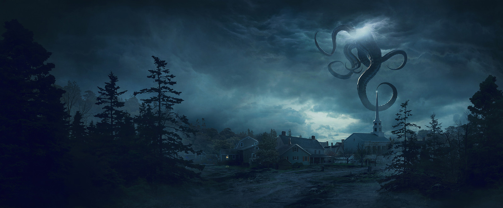 H.P. LOVECRAFT The Fear from beyond - New England village
