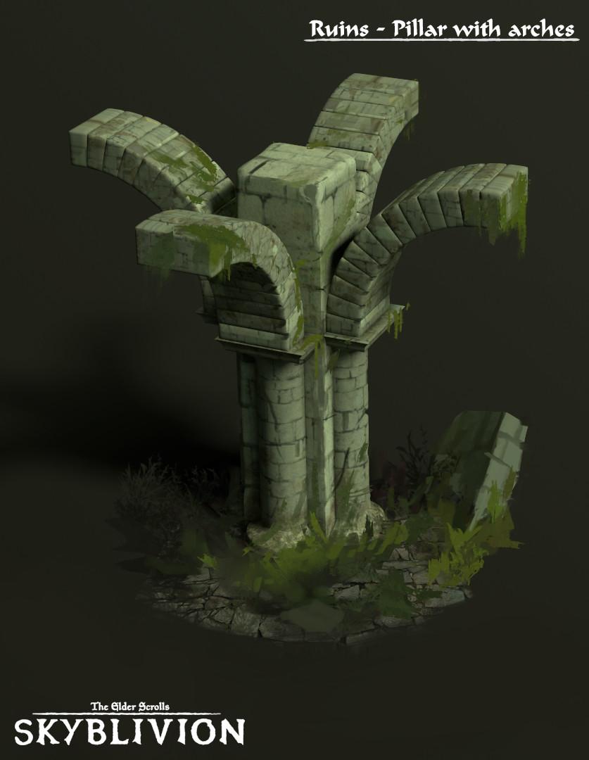 Roberto gatto pillar and arches