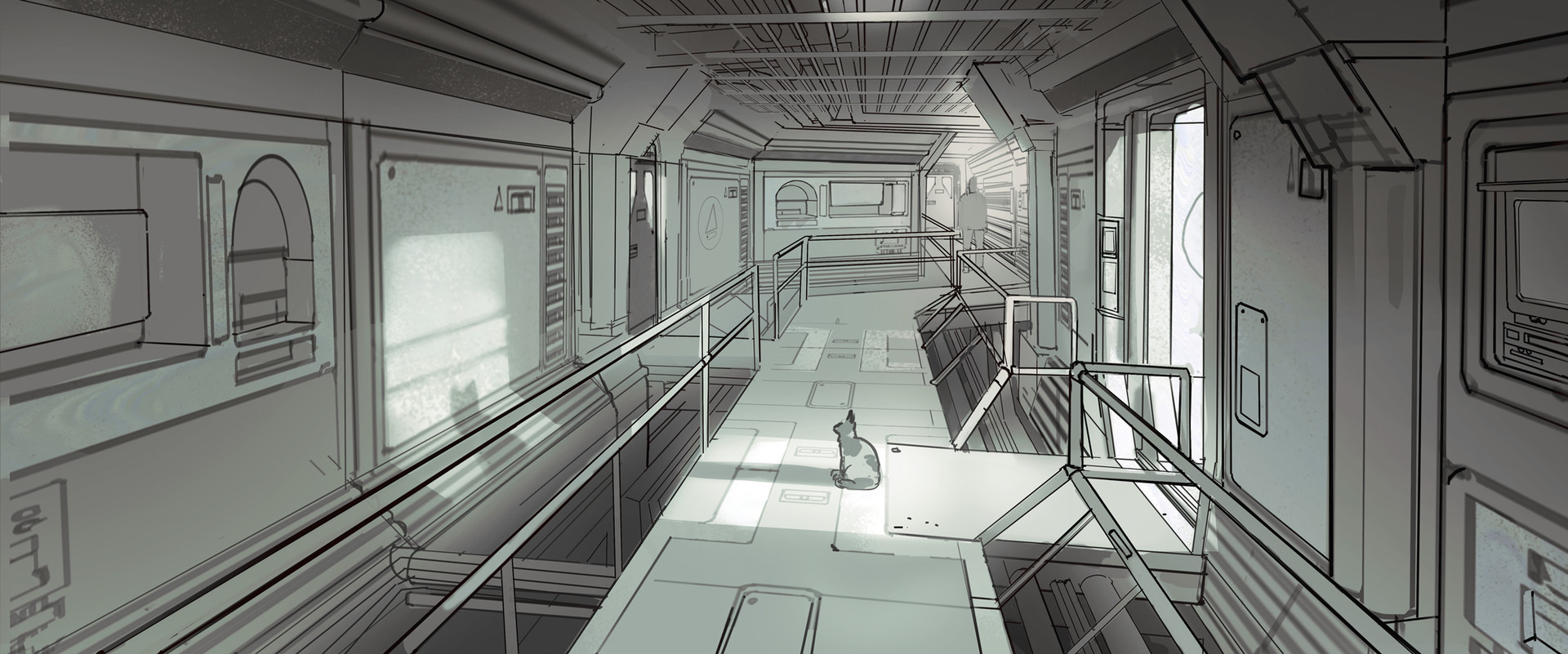 Adrien girod ag demo space station linework02