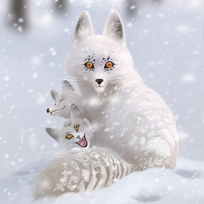 Edin durmisevic white fox color