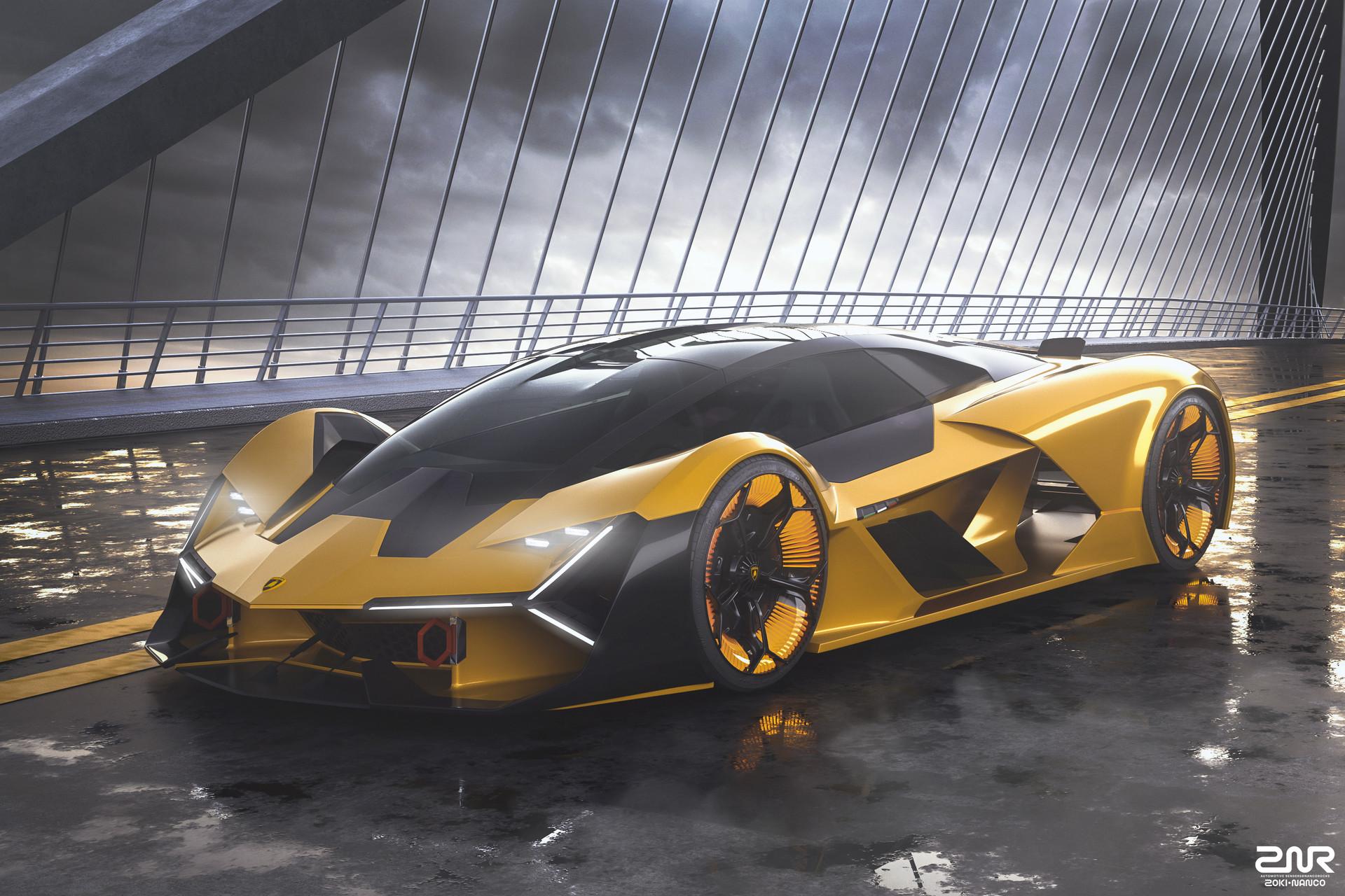 Zoki Nanco Nancorocks Znr3d Lamborghini Terzo Millennio