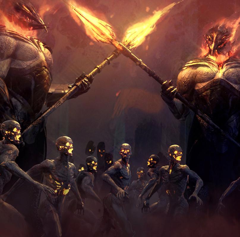 Thor vs Surtur's Horde