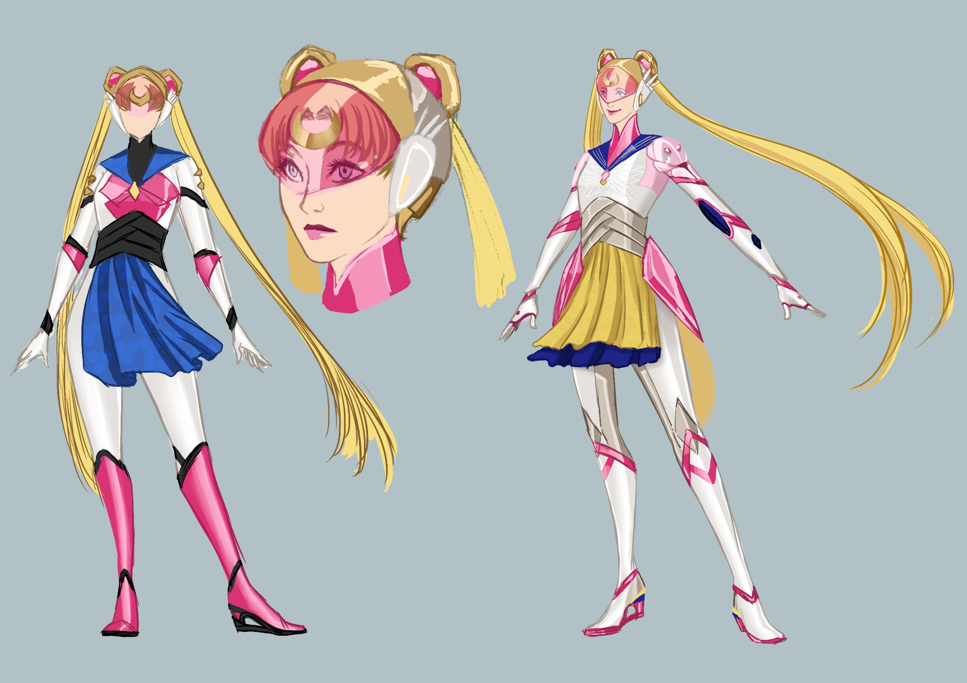 Elizabeth goldring sailor moon ow design