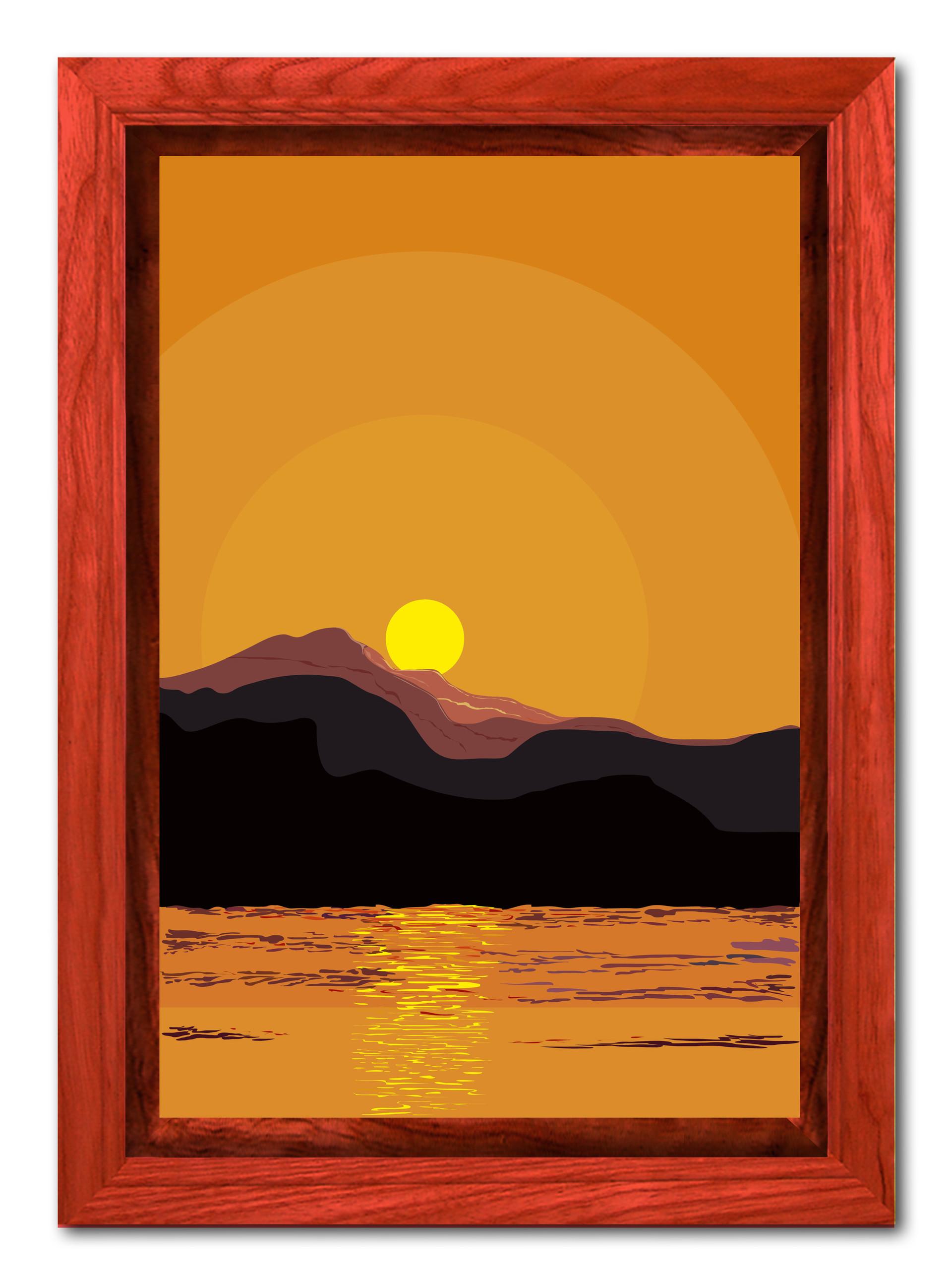 Rajesh r sawant dawn raw frame