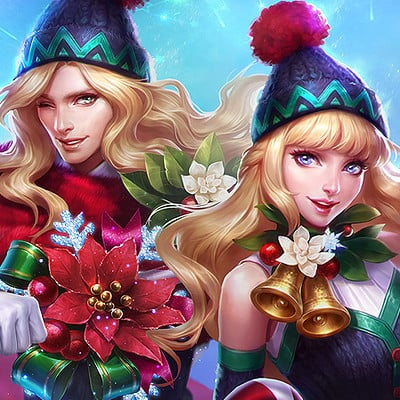 Christmas Carnival Lancelot.Artstation Lasso