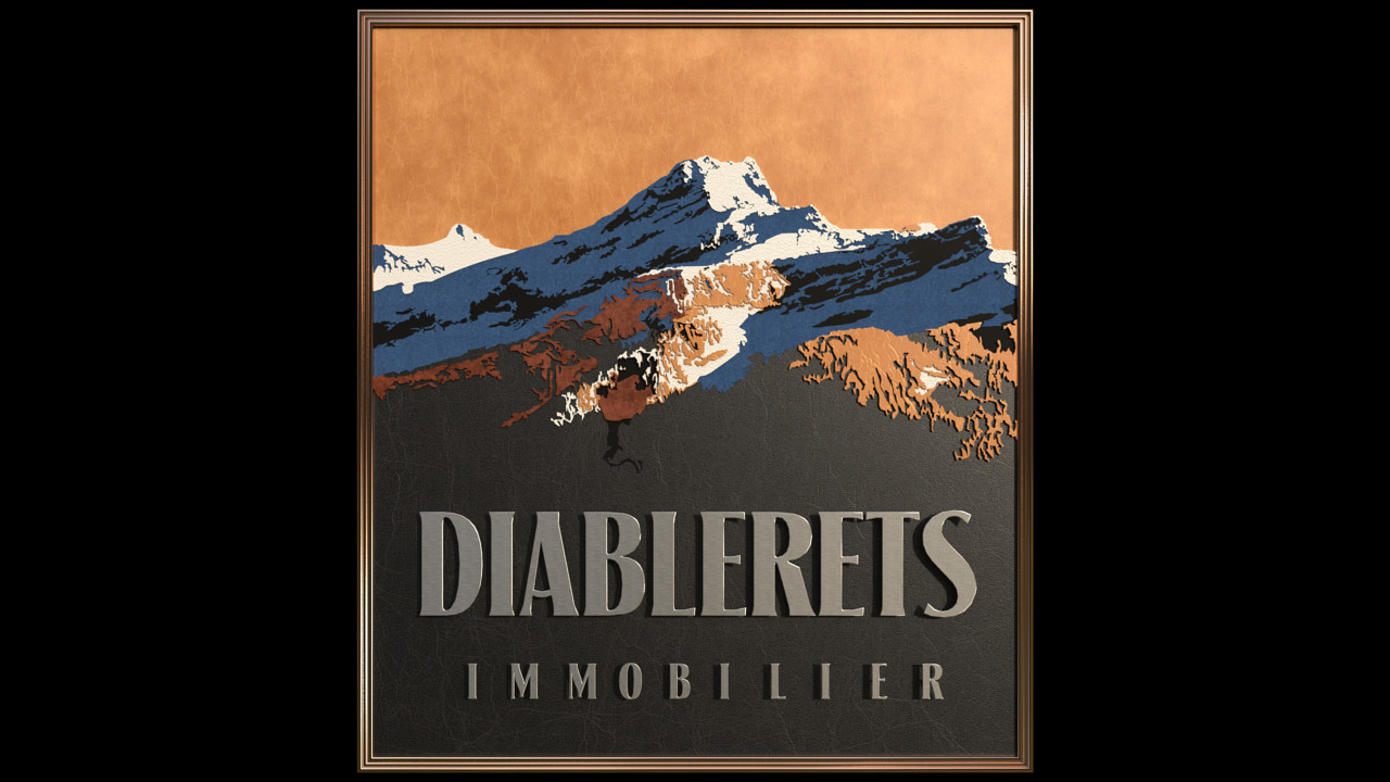 14 Diableret Mountain Logo 02 Leather-Scene 3