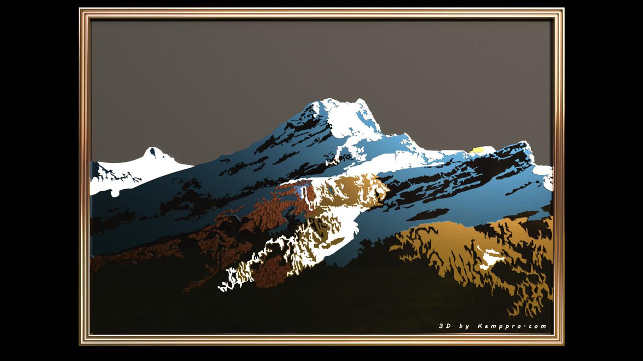 Duane kemp 20 diableret mountain logo 02 metal hclass scene 7b