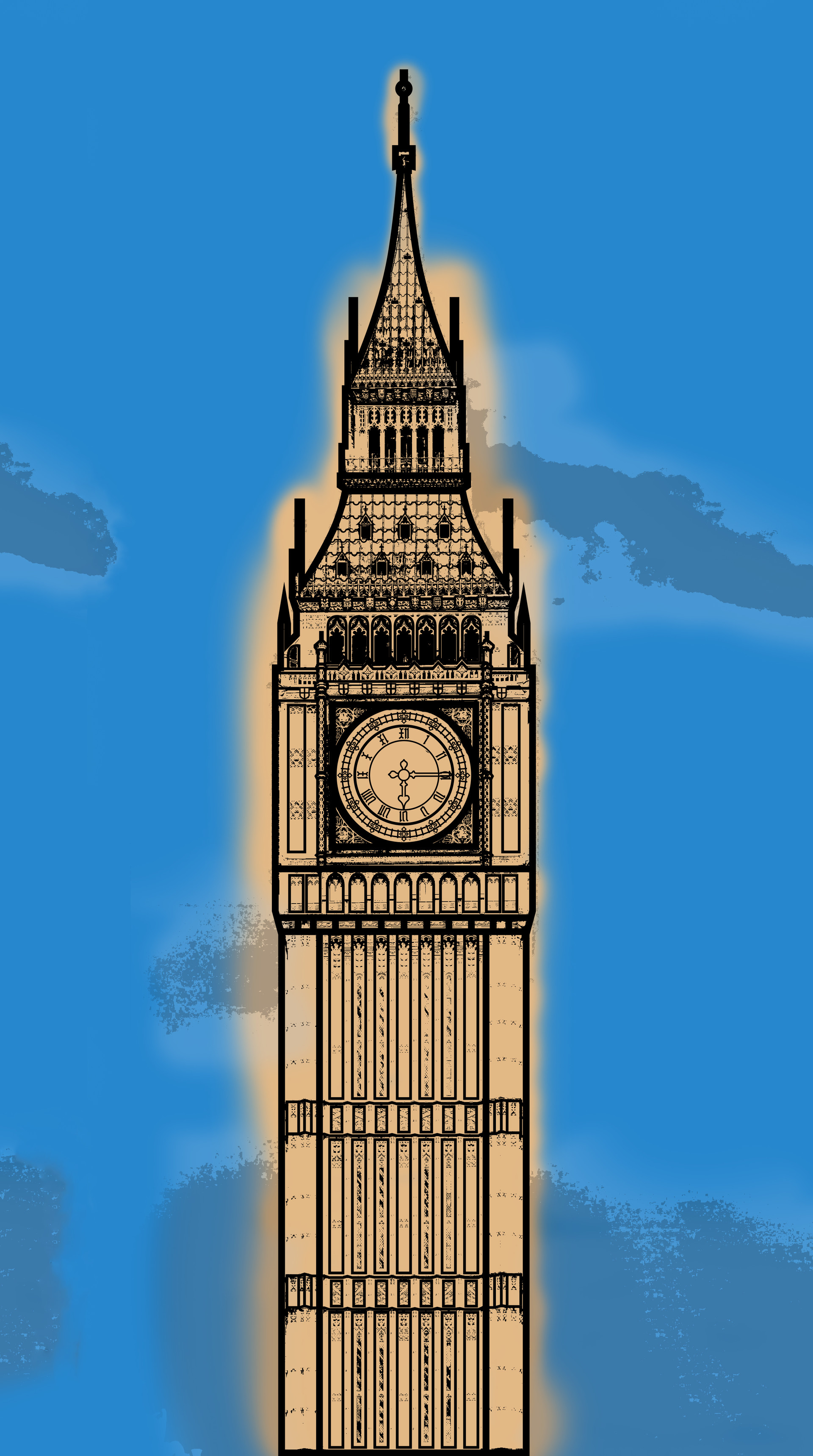 Rustic orcullo big ben