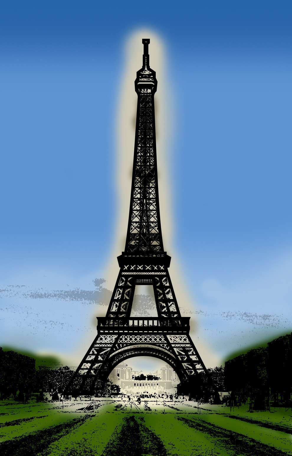 Rustic orcullo eiffel tower 02