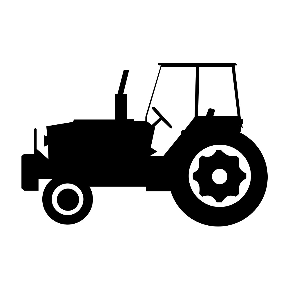 Rustic orcullo tractor