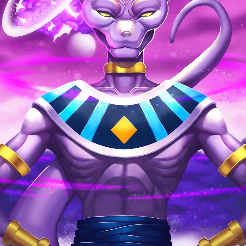 Lord Beerus the destroyer of worlds