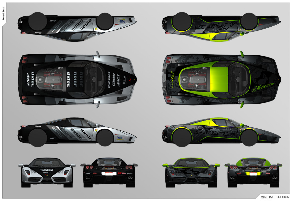 Artstation Livery Designs For Ghost Games Nfs Rivals Mike Hayes