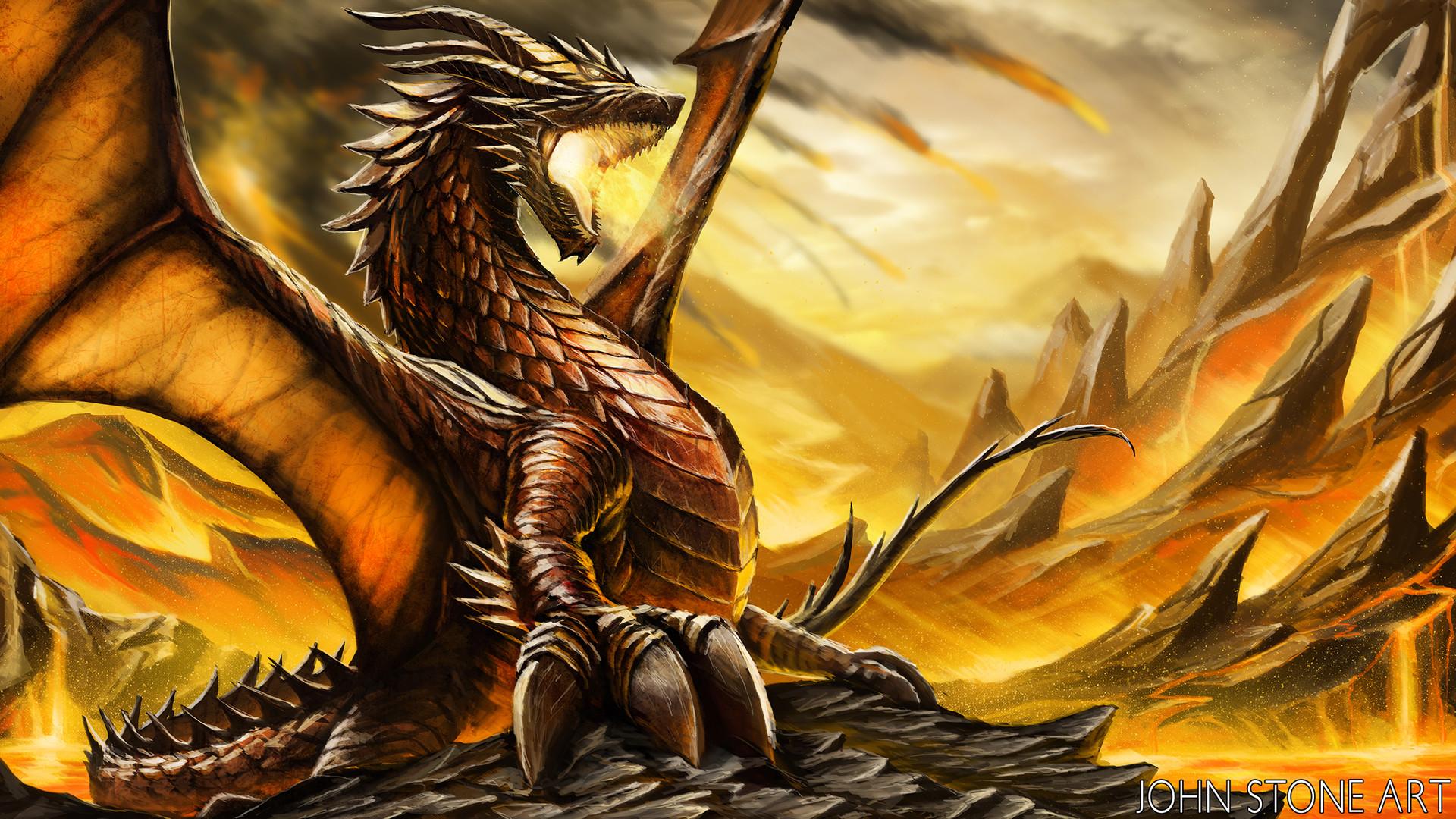 John stone stormfire dragon web