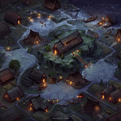 Nele diel viking village
