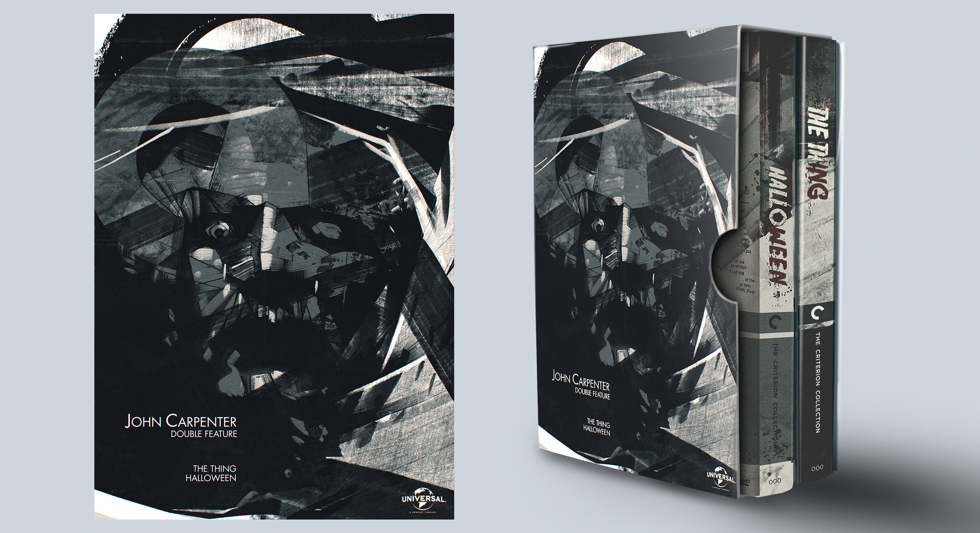 pouya moayedi - dvd box set + cover design : a tribute to john carpenter