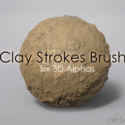 Nacho riesco gostanza alpha clay brush3