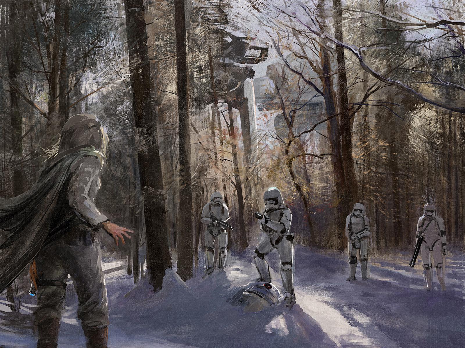 Tymoteusz chliszcz starwars winter2 by chliszcz