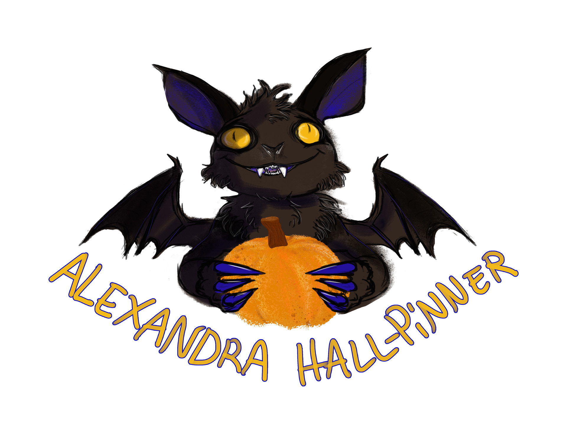 Alexandra hall pinner bat sticker