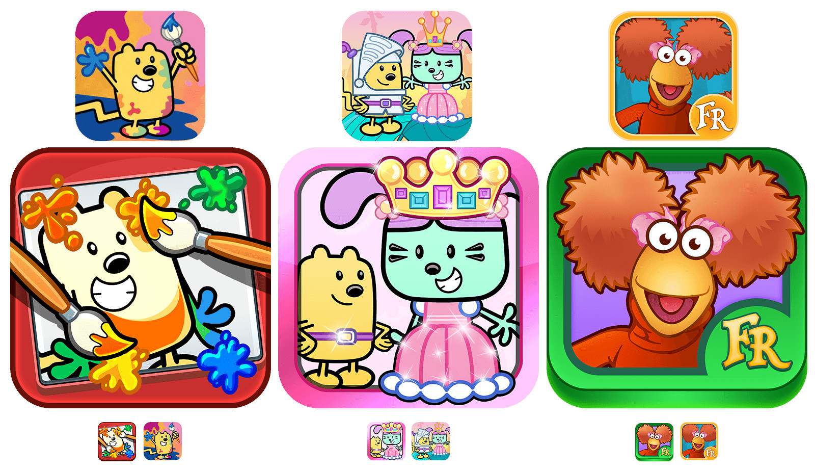 Designed many app icons for all our apps.