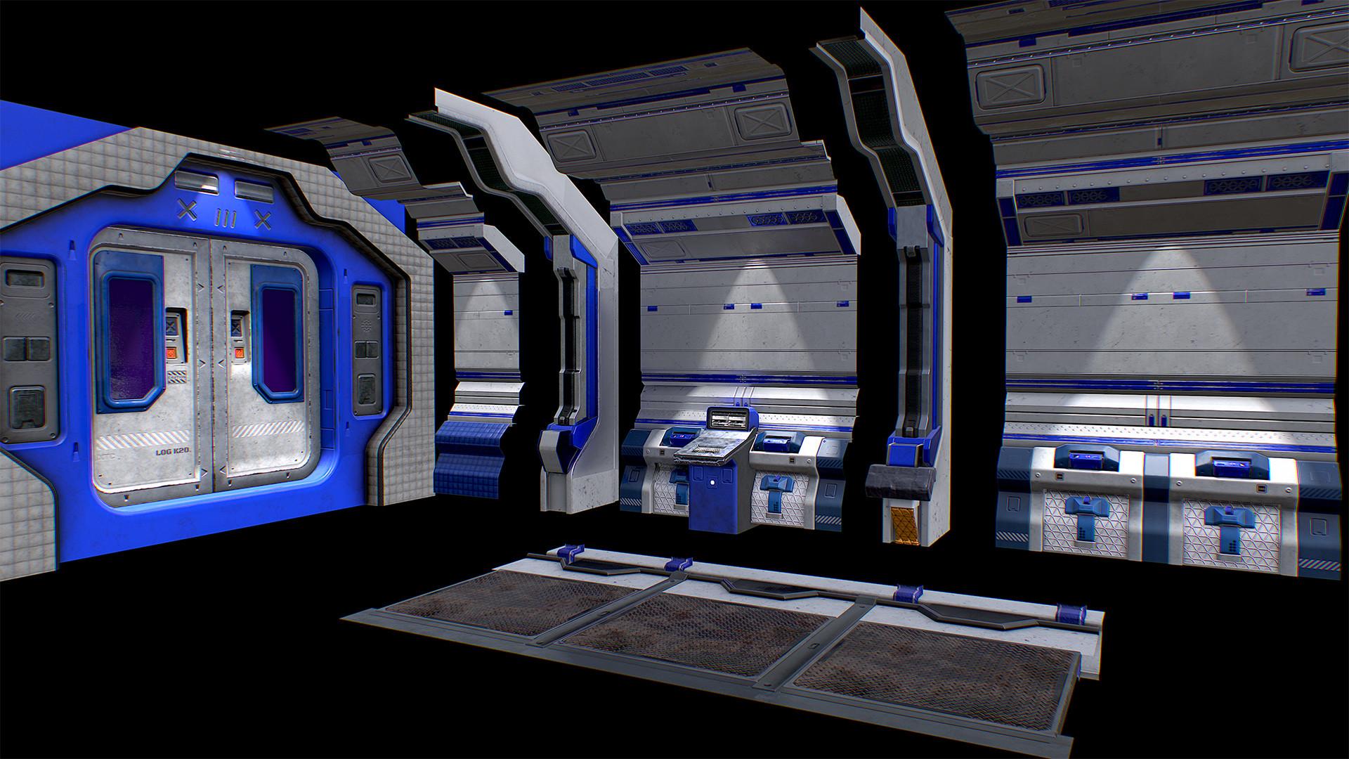 Chris arnold scifi corridor modular