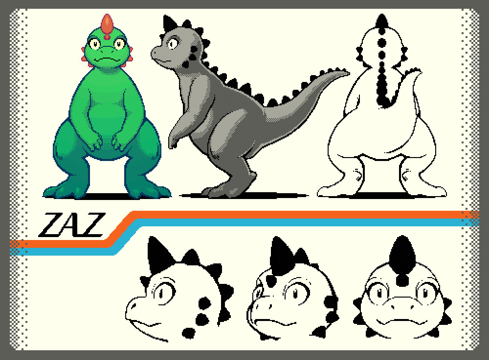 Tinctorium characterdesign zaz pixel complete