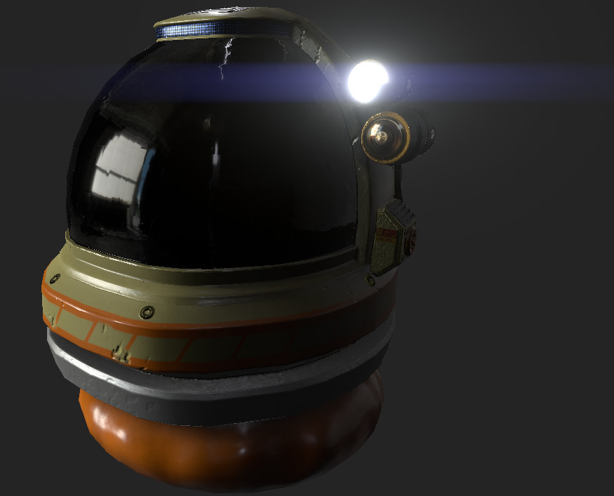 3D Game Props - Space Voyager Helmet.