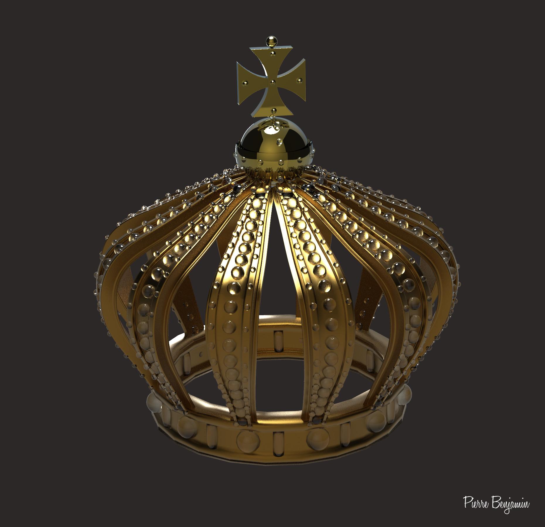 Pierre benjamin crown new