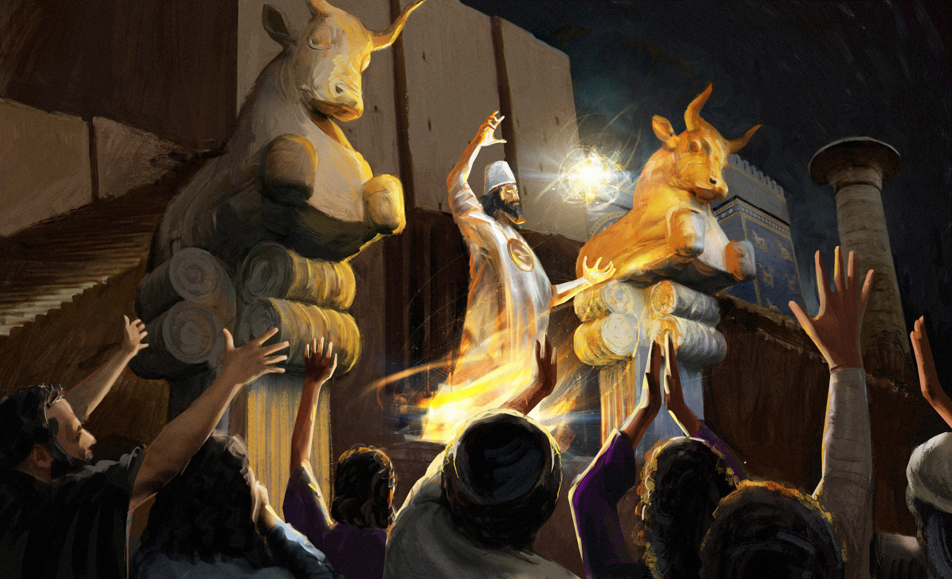 Babylonian magician
