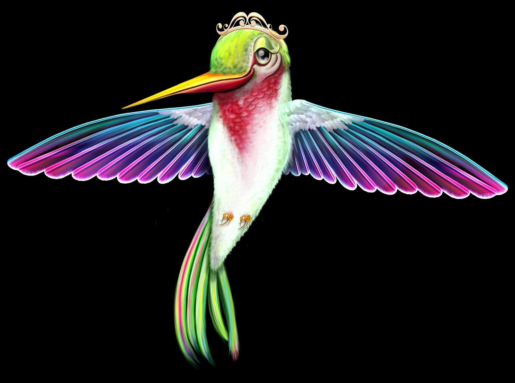 Remi couture hummingbird