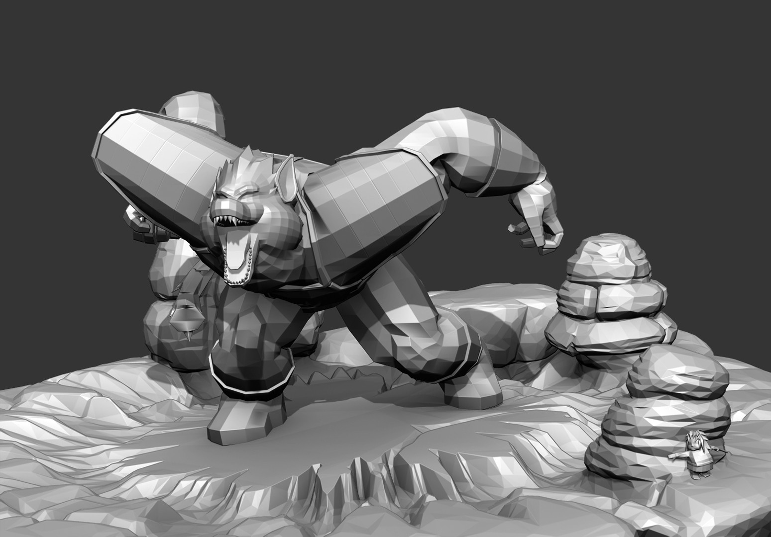 Gray Matcap from ZBrush
