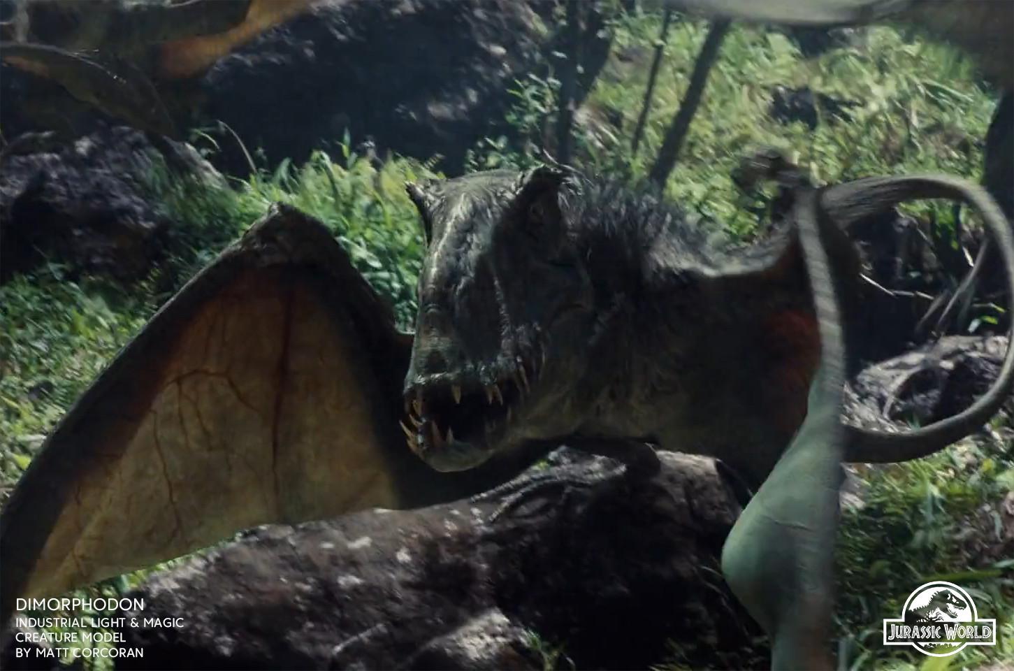 Matt corcoran jurassicworld dimorphodon 02